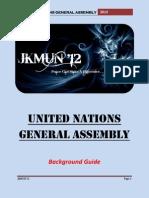 Background Guide UNGA JKMUN'12