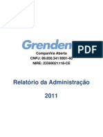 Relatorio_Administracao_2011  GREENDENE