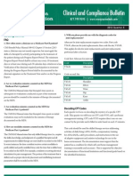 Evergreen Rehabilitation - Clinical & Compliance Bulletin - 2012