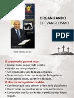 Organizando el Evangelismo via Satelite 2012 Perú
