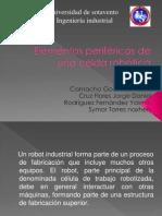 Elementos periféricos de una celda robótica BIEN