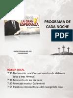 Programa Evangelismo via Satelite 2012 Perú