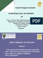 IXGU 6121 K10 - KPU Dan Islam in Malaysia