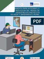 HERRAMIENTA PARA INTEGRAR LA REDUCCIÓN DEL RIESGO DE DESASTRES EN PROYECTOS DE AGUA Y SANEAMIENTO RURAL