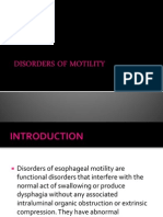 Disorders of Motility2