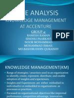 Case Analysis KM-Accenture RameshRaman 11MBA0089
