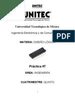 Práctica 7 UNITEC