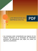 Los Negocios en Linea y La Empresa Digital