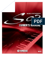 manual Yamaha S03 português