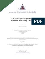 A Kindergarten Guide to Modern Monetary Theory