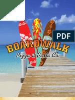Boardwalk Pizza & Pasta Menu