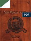 Geyser View Menu