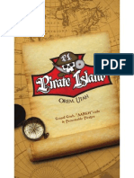 Pirate Island Menu