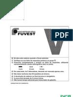 Prova Fuvest - 2010 - 1a Fase - Tipo V