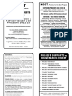 Software Project Titles Book 2012-13 - Non IEEE Projects in Java & DotNET