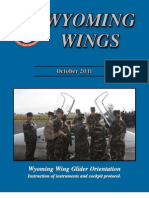 Wyoming Wings magazine, October 2011