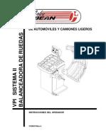Manual Balanceadora VPI System II
