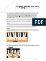 Aprende a Tocar El Organo
