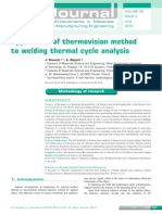 Application of Thermovision Method