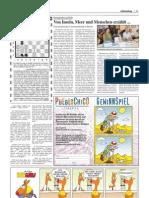 """Artikel von León W. Schönau in """" Wochenblatt """"- Deutsche Zeitung der Kanarische Inseln,  Juni/ 2012"""