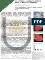 Correlacion anatomo-imagenologica de las arterias coronarias en el nordeste argentino. Variedades anatomicas. IMportancia Clinica