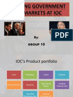ODC Jugglng Govt and Markets at IOC