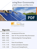 Solar Powering Your Community Cincinnati Regional Workshop 09 26 12