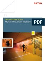 TEMS Investigation 14.1 IEs and Events