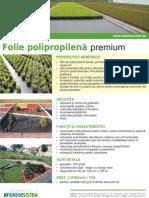 Folie Polipropilena