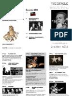 TwickFolk flyer October November 2012