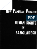 How Pakistan Violated Human Rights in Bangladesh