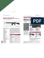 SAS Weapons Rifles Heckler Koch G3