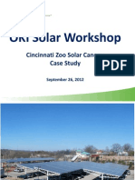 OKI Solar Workshop Cincinnati Zoo Solar Canopy Case Study