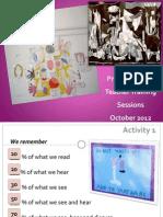 Primary Teacher Training Seminar, October 2012