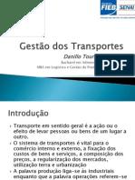 Aula 01 - Gestão dos Transportes