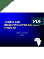 Paliative Care...