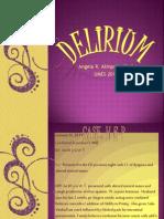 Delirium Ppt
