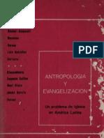 Celam - Antropologia y Evangelizacion