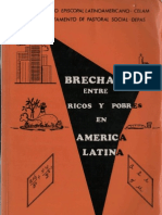 Celam - Brecha Entre Ricos y Pobres en America Latina