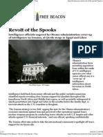 Revolt of the Spooks