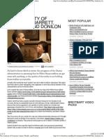 The Audacity of Cronyism Jarrett,