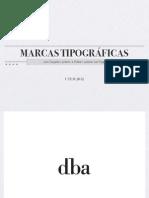 Marcas Tipograficas