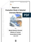 011 Evaluation Study in Selected Overseas Market(tourism)