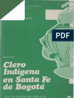 Celam - Clero Indigena en Santa Fe de Bogota