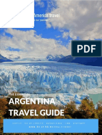 Argentina Travel Guide   Download a Free Argentina Guide PDF