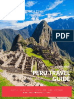 Peru Travel Guide | Download a Free Peru Travel Guide E-Book