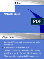Web API Basics