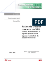 Espaces urbani & aménagement _ratios & RESI