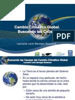 1. Causas Del Cambio Climatico