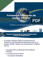 2. Procesos de generación del cambio climatico global